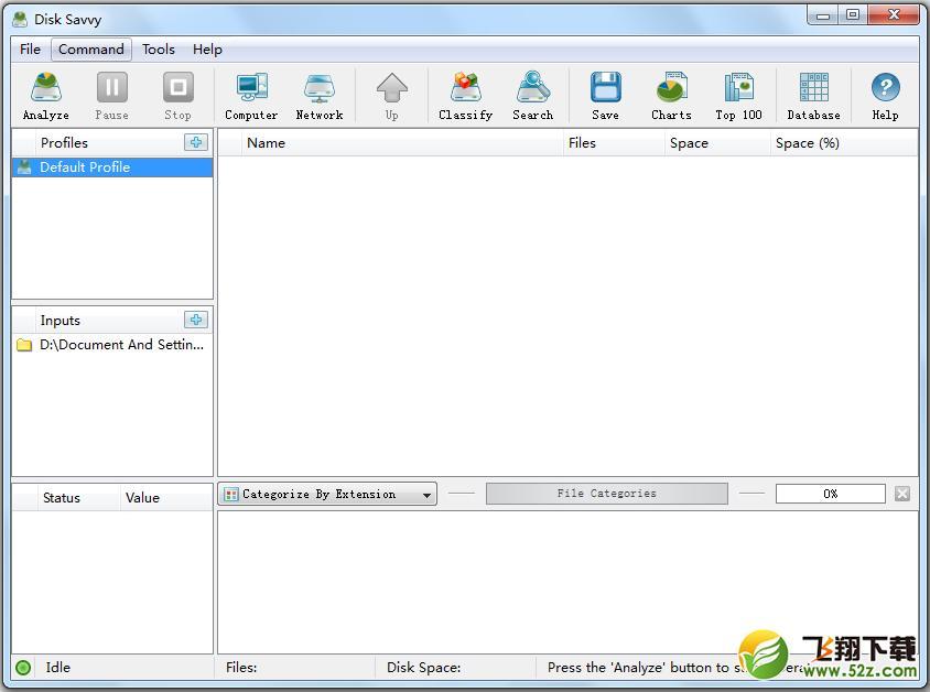 Disk Savvy Server(硬盘分析工具)_52z.com