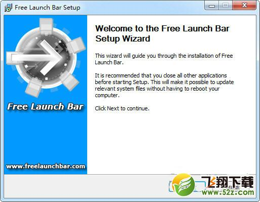 Free Launch Bar(快速��釉��工具)V2.0 免�M版_52z.com
