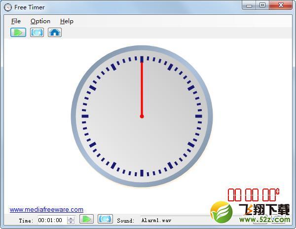 Free Timer(倒计时软件)V1.0 免费版_52z.com