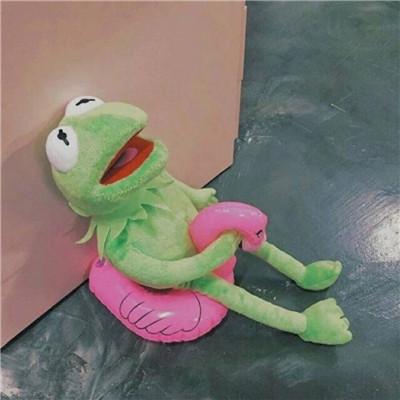 2019微信青蛙头像图片无水印 青蛙头像满屏爱心独一无二的_52z.com