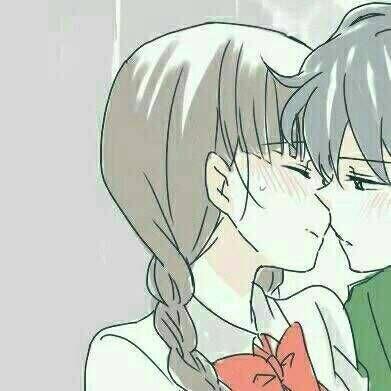 动漫情侣头像亲吻或拥抱2019 动漫情侣头像亲吻暧昧 一对好看的图片