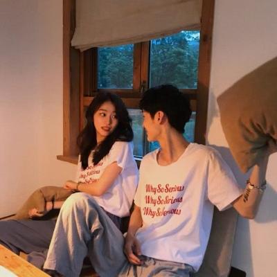 QQ情侣头像霸气甜蜜2019 最新520情侣版头像一对两张_52z.com
