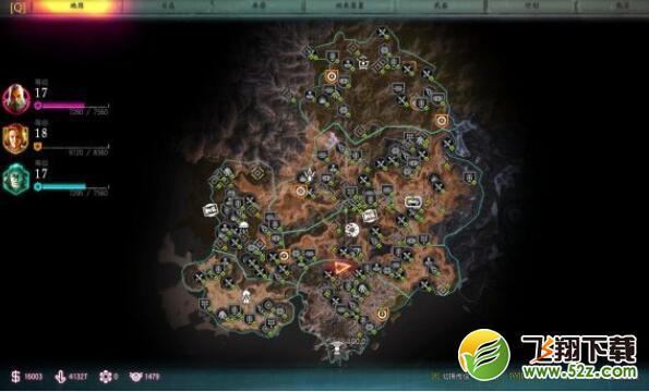 《狂怒2》新手实用技巧及全收集地图_52z.com