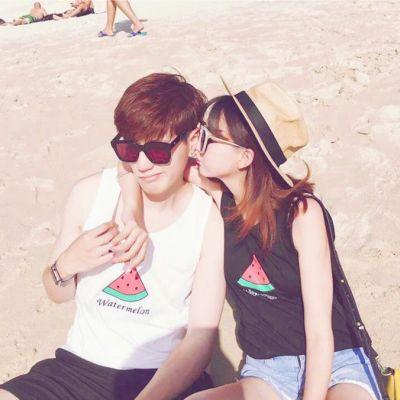 好看的幸福情侣微信头像一对两张 微信头像情侣一对两张亲密甜蜜_52z.com