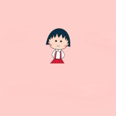 樱桃小丸子头像可爱呆萌搞怪 2019最新小丸子卡通微信头像_52z.com