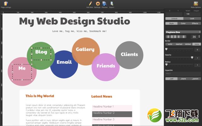 HTML Egg 2V2.0.2 Mac版_52z.com