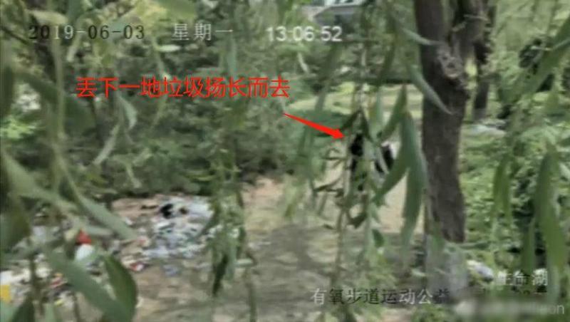运垃圾进公园摆拍是怎么回事 运垃圾进公园摆拍是什么情况_52z.com