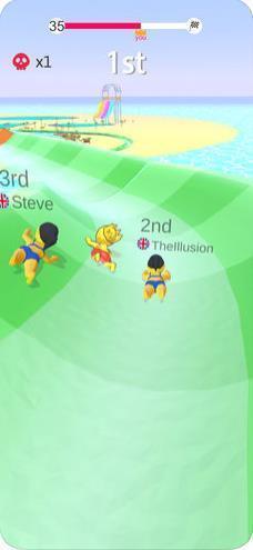 抖音水上乐园滑行大赛(Aquapark Slide.io)V1.0.2 安卓版_52z.com