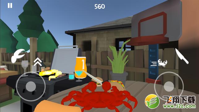 刀与肉螃蟹模拟器V1.0 苹果版_52z.com
