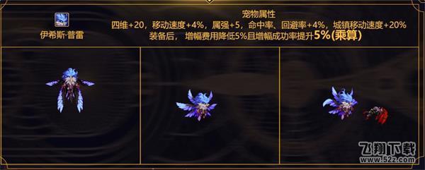 DNF普雷伊希斯宠物属性介绍_52z.com