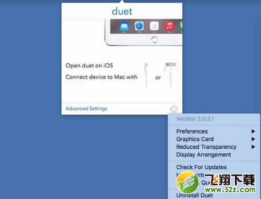 Duet DisplayV2.0.7.4 Mac版_52z.com