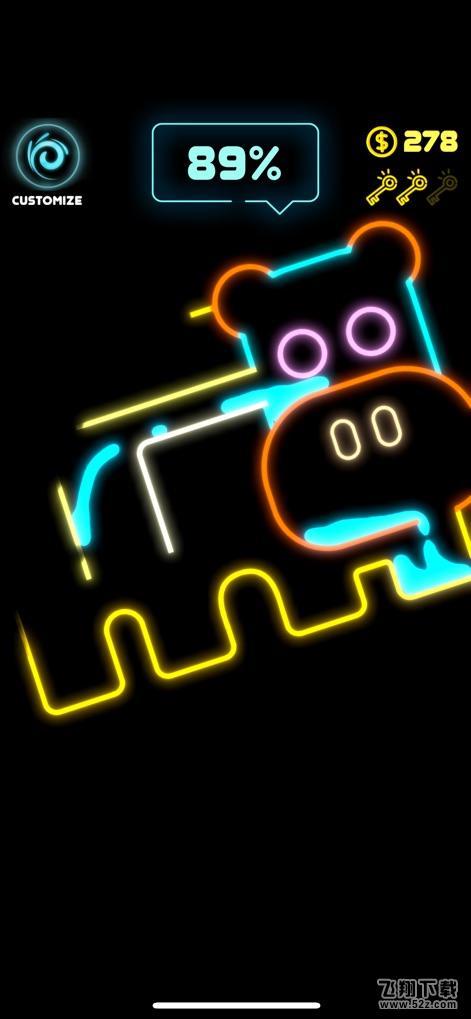 Neon SplashV1.1 苹果版_52z.com