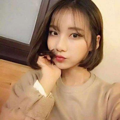 短发女生头像高冷2019最新 高清好看的韩系高冷短发女头像_52z.com