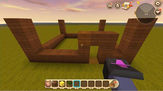 迷你世界房子怎么建造?