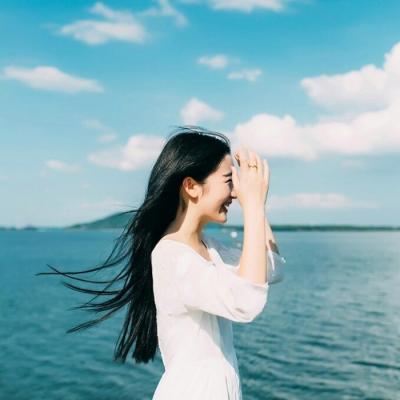 女神范十足的长发小清新头像 适合夏天的女生长发头像精选