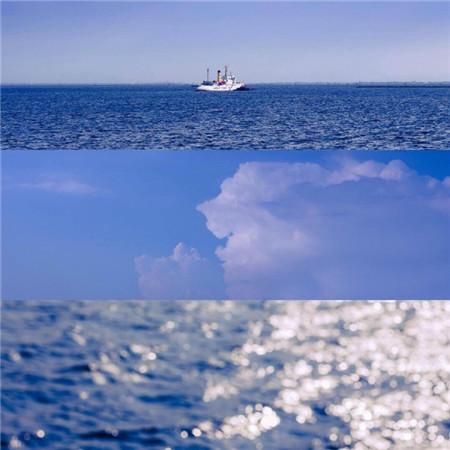 蓝色系背景图片唯美梦幻 唯美蓝色系意境风景图片_52z.com