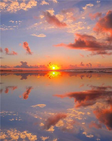 夕阳西下唯美图片大全 最美夕阳图片浪漫高清