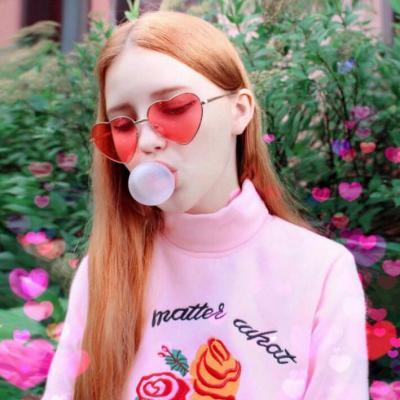 2019QQ头像女生欧美范时尚俏皮可爱 QQ个性头像女生可爱欧美范