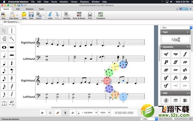 Crescendo ProV4.24 Mac版_52z.com