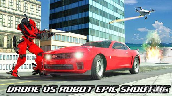 无人驾驶机器人变换V1.5 安卓版_52z.com