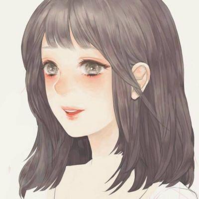 美女卡通头像图片大全可爱 呆萌可爱的动漫女生头像图片大全