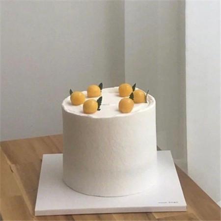 少女心甜美生日蛋糕图片 网红简约蛋糕图片大全