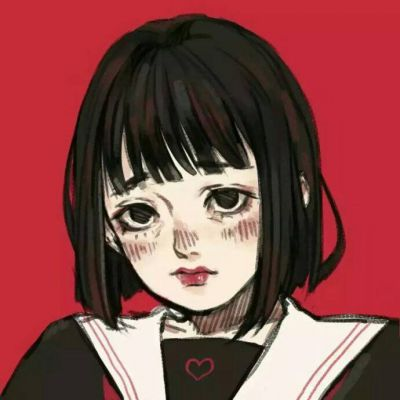 卡通动漫女生小清新头像2019 2019唯美小清新动漫女生卡通头像