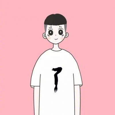 卡通可爱萌娃头像情侣一男一女2019 卡通情侣头像一男一女超萌呆_52z.com