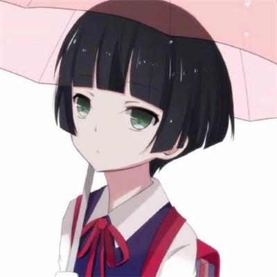 2019头像女动漫二次元软妹头像 女生动漫头像可爱萌二次元_52z.com