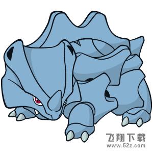 《宝可梦:剑/盾》独角犀牛属性特性图鉴_52z.com