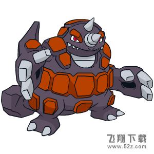《宝可梦:剑/盾》超甲狂犀属性特性图鉴_52z.com