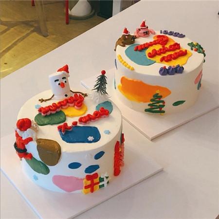 高颜值生日蛋糕图片大全 生日蛋糕图片卡通可爱_52z.com
