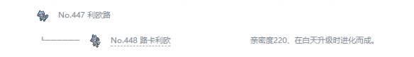 《宝可梦:剑/盾》利欧路属性特性图鉴