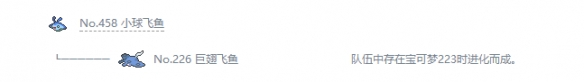 《宝可梦:剑/盾》巨翅飞鱼属性特性图鉴