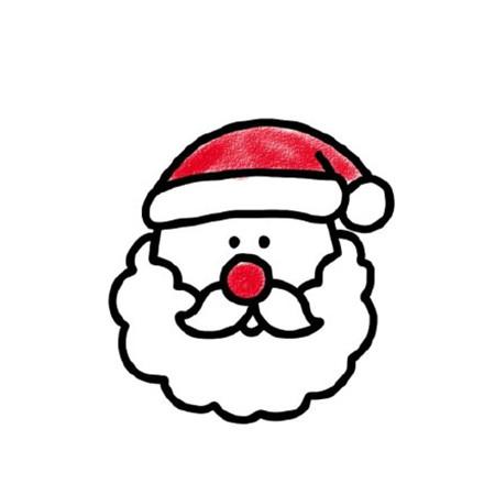 圣诞节简笔画图片2019 圣诞节简笔画彩色可爱