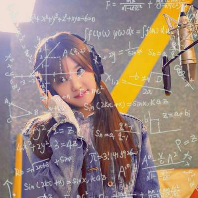 2019唯美清新脱俗带公式的女生头像 带数学公式的女生头像唯美图片_52z.com