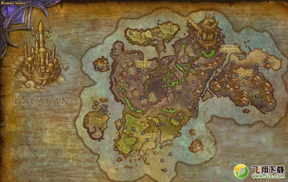 魔兽世界虫语者箱子位置坐标一览_52z.com