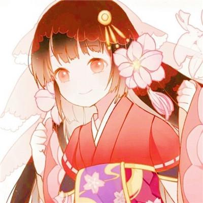 新年红色洋气女生萌头像精选 春节过年必备可爱卡通头像_52z.com
