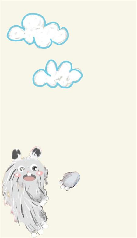 小怪兽手机壁纸卡通可爱 抖音小怪兽壁纸图片大全_52z.com