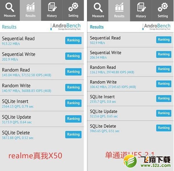 realme x50是ufs3.0吗 realme x50用的是什么闪存_52z.com