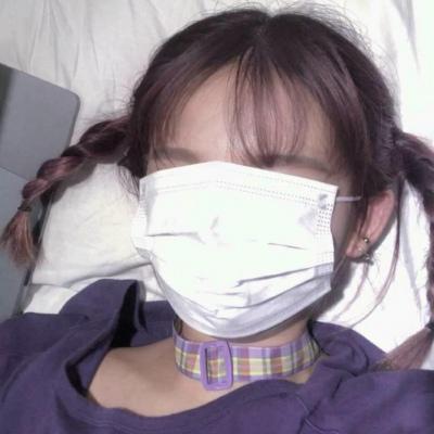 女生超霸气戴口罩头像 戴口罩的女生微信头像2020最新_52z.com