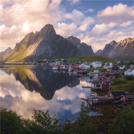 早安微信朋友圈配图 早安风景图片高清无水印