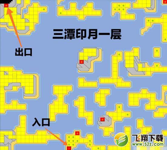 烟雨江湖三潭印月路线一览_52z.com