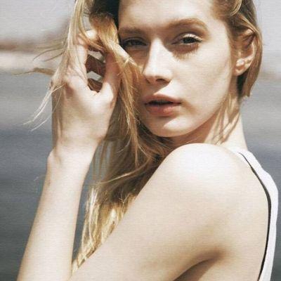 欧美头像女生小清新长发披肩女神 最美欧美女生长发图片头像