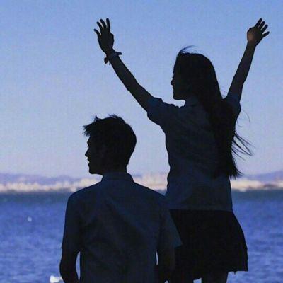 唯美有意境的情侣头像一男一女 低调好看的情侣头像