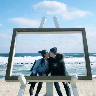 唯美有意境的情侣头像一男一女 低调好看的情侣头像_52z.com