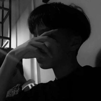 男生黑白头像冷酷忧伤帅气 2020男生黑白头像冷酷忧伤_52z.com
