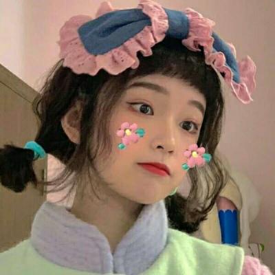 微信可爱头像女生超萌清纯 呆萌可爱头像清纯女生小萝莉_52z.com