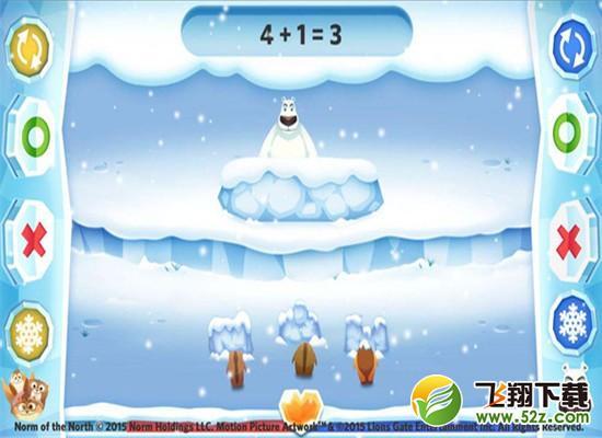 北极熊数学冬季战V1.0.3 安卓版_52z.com