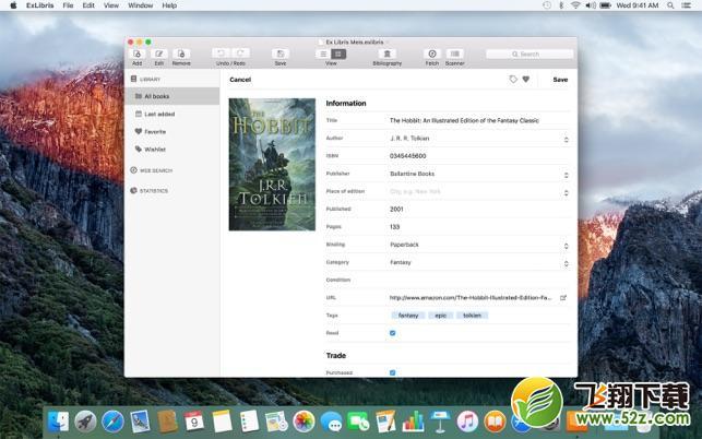 ExLibrisV10.0.1 Mac版_52z.com